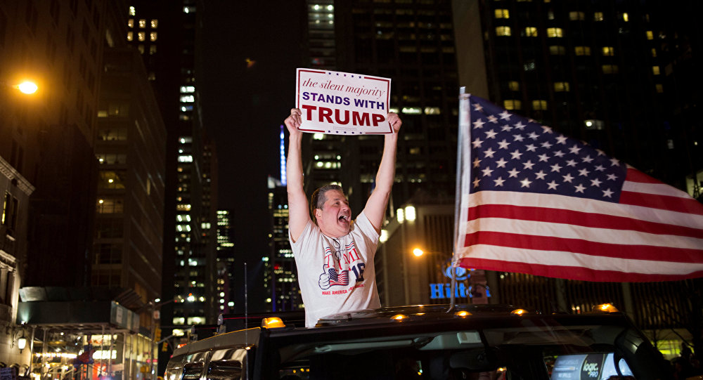 کودتا در آمریکا!! / ترامپ ریاست جمهوری آمریکا