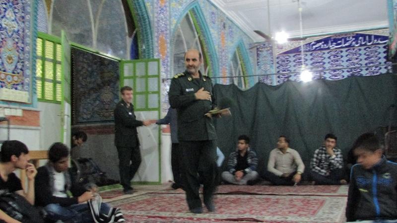 تجلیل از خبرنگاران توسط فرمانده سپاه ناحیه گچساران انجام شد