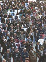 تصاویری از انتظار مردم باشت برای ورود مختار (سید قدرت حسینی)