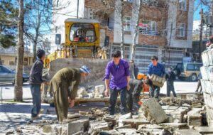 بازسازی شهر زلزله زده سی سخت آغاز شد