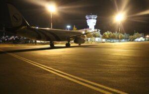 پرواز شب برای نخستین بار در فرودگاه یاسوج انجام شد