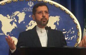 خطیبزاده: همه تحریمهای آمریکا باید لغو شود