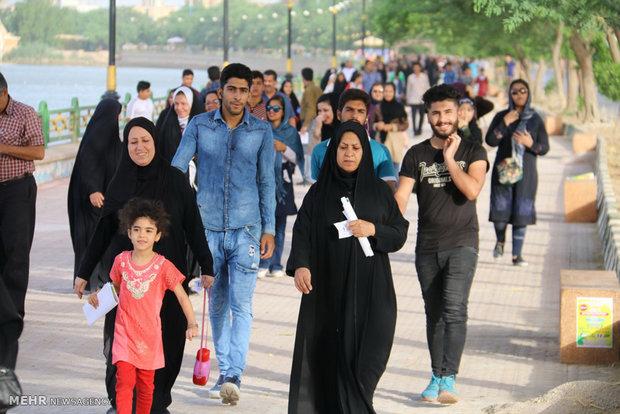 ۱۲۵همایش پیادهروی در کهگیلویه و بویراحمد برگزار شد