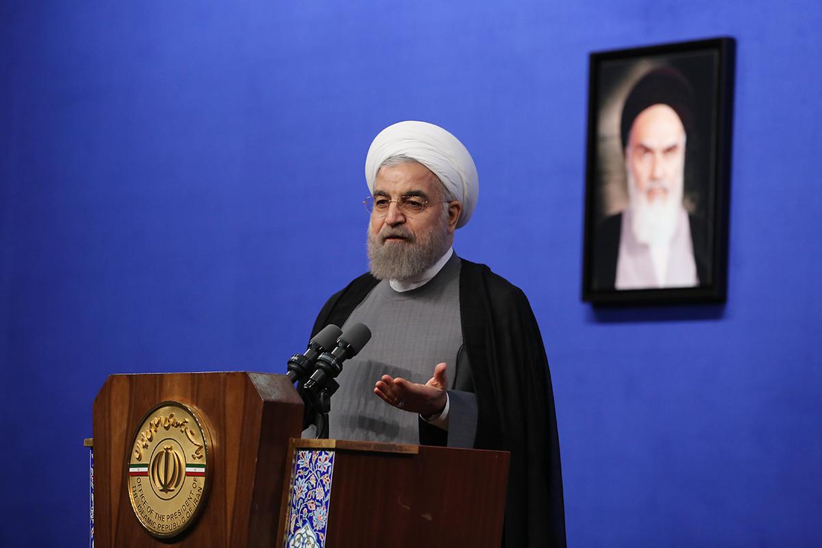 متن سخنان دکتر روحانی در ضیافت افطار با خانواده معظم شهدا و ایثارگران