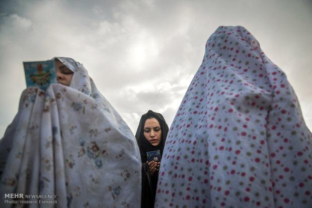 نماز عید فطر در میدان امام شهر گچساران اقامه می شود