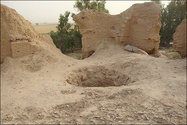 حفاران غیر مجازتنگ هیگون دستگیر شدند/حفاری برای یافتن اشیاء عتیقه