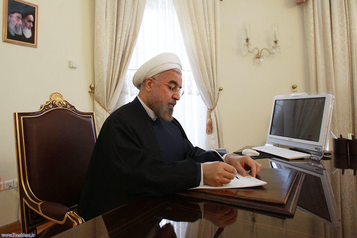 پیام تبریک دکتر روحانی به رییس جمهوری لبنان