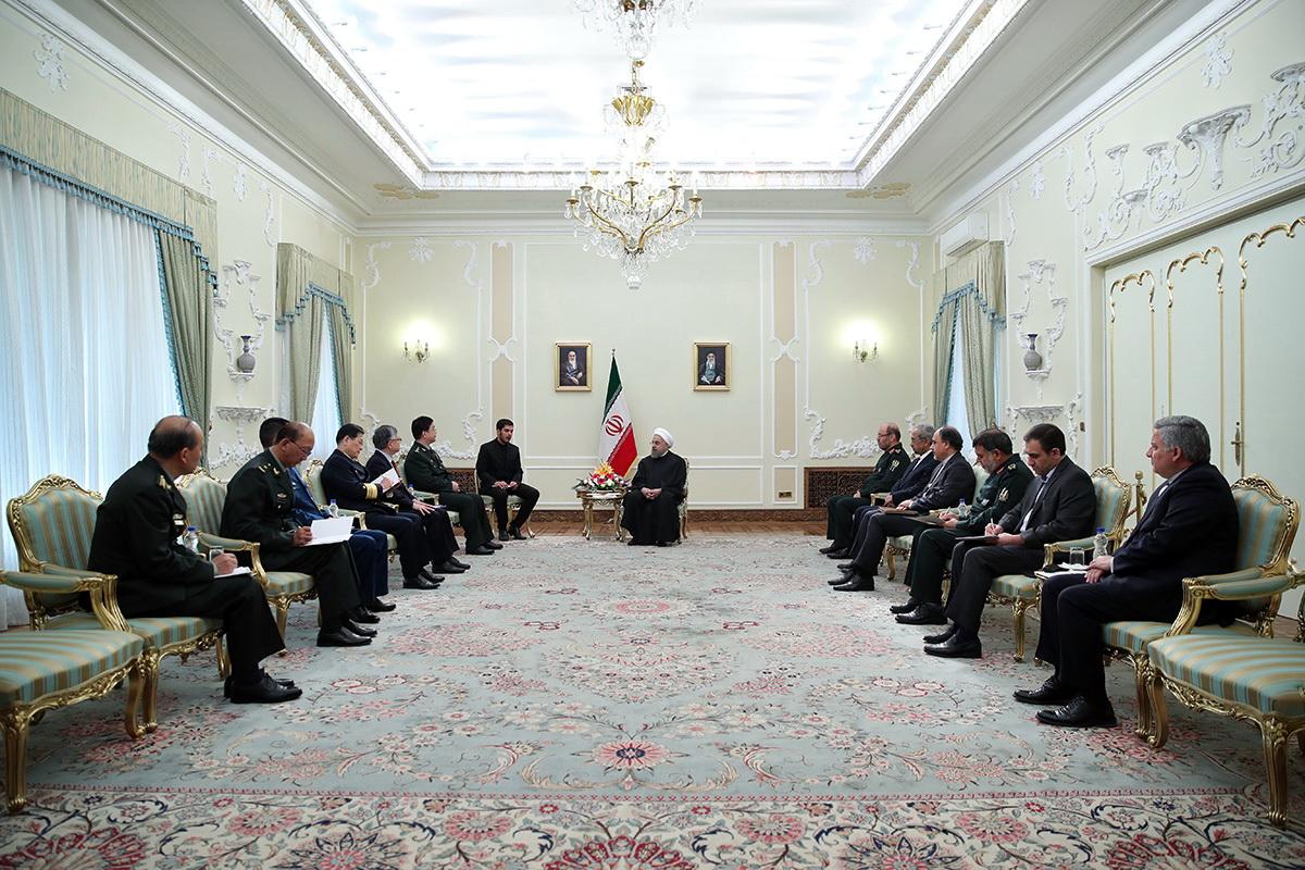 تهران از تعمیق همکاری با پکن در همه زمینهها از جمله دفاعی استقبال می کند