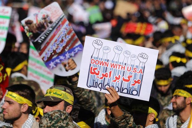 راهپیمایی ۱۳ آبان در ۱۷ شهر کهگیلویه و بویراحمد برگزار شد