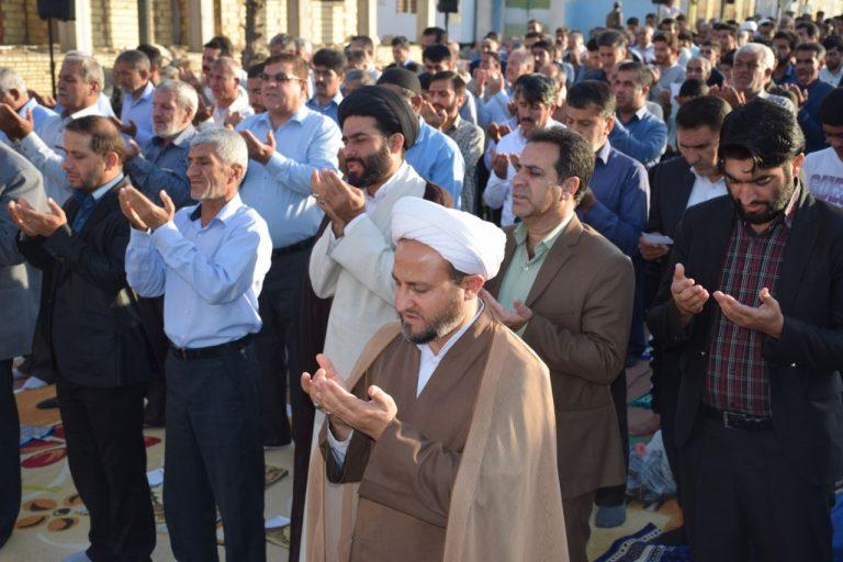 نماز عید فطر در شهر باشت +تصاویر