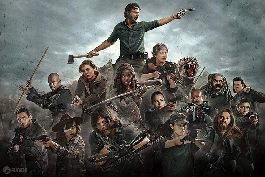 سریال مردگان متحرک The Walking Dead یکی از پرطرفدارترین سریال