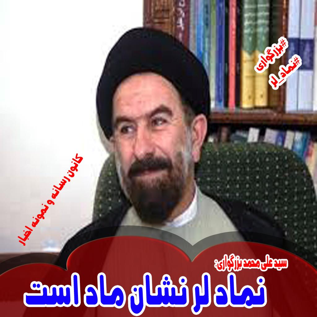 سید علی محمد بزرگواری: نماد لر نشان ماد است+فیلم