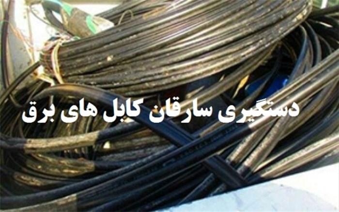 دستگیری سارقان سیم برق و منازل با 17 فقره سرقت در گچساران