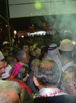فشردگی و ازدحام جمعیت هواداران سید قدرت حسینی / ستادی عاری از تجملات و تزئینات
