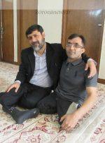 """سید ناصر حسینی، آزاده و نویسنده کتاب """"پایی که جاماند"""" است"""