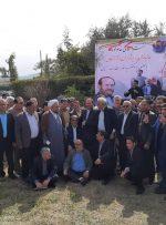 جلسه تعدادی از جانبازان با سید قدرت الله حسینی پور در منازل شرکت نفت