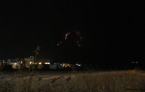 آتش سوزی در #ارتفاعات پشت دانشگاه آزاد گچساران