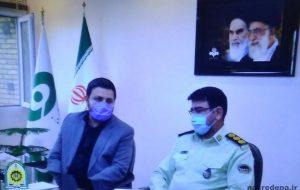 مدیر کل صدا و سیمای استان: امنیت داخلی کشور مرهون زحمات و تلاش های نیروی انتظامی است
