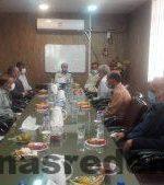 دیدار مجمع امورصنفی واصناف بافرماندهی انتظامی  شهرستان گچساران بمناسبت فرارسیدن هفته ناجا