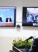 بهره برداری رسمی طرح های ملی وزارت نیرو توسط رییس جمهوری