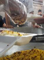 سه هزار پرس غذای گرم در گچساران توزیع شد